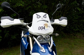 007-BMW HP2 Enduro - Lampenmaske